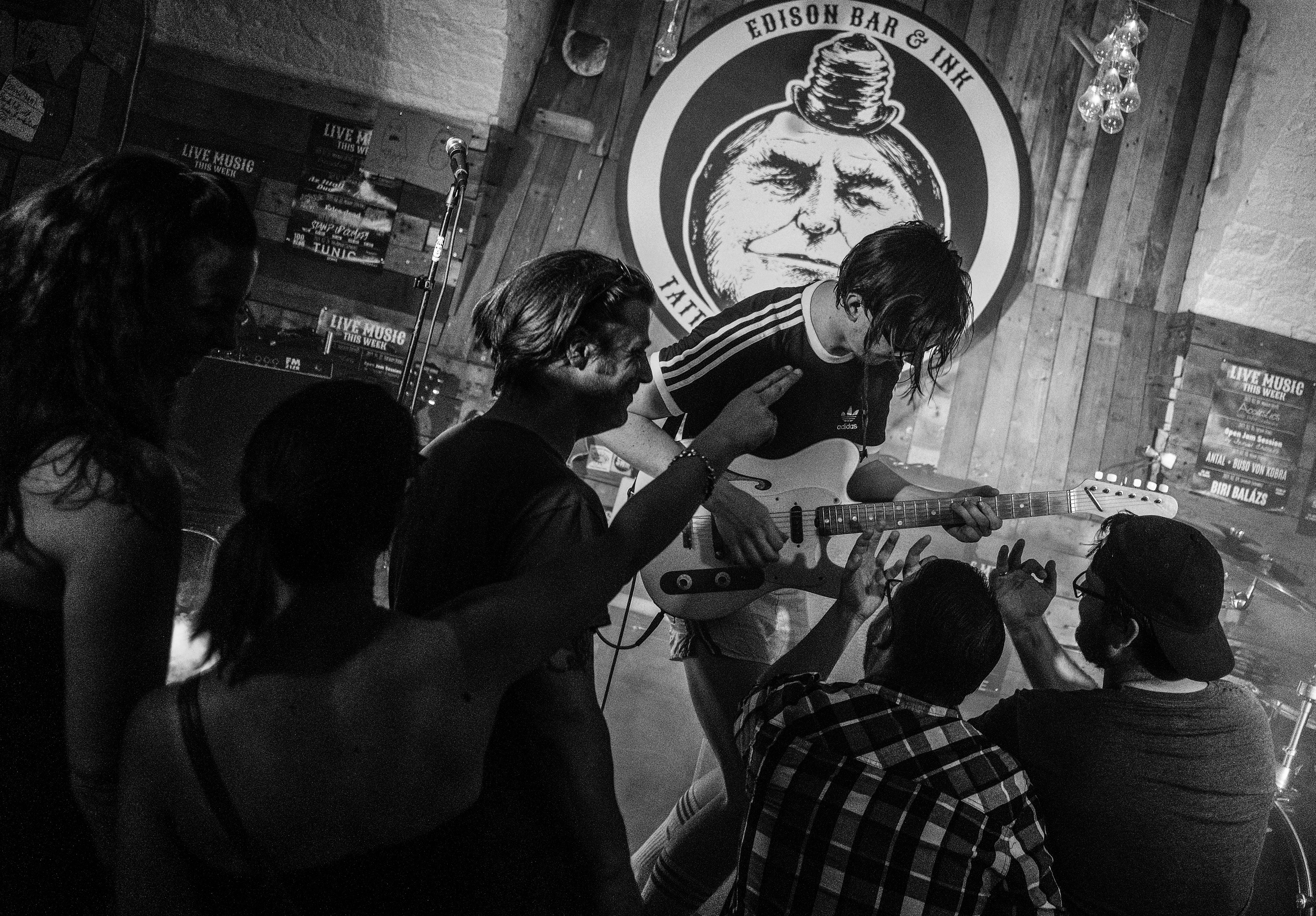 Teddy Harpo koncert Edison Bar Budapest