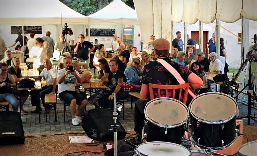 Teddy Harpo One Man Band Koncert Lábatlan Blues Fesztivál