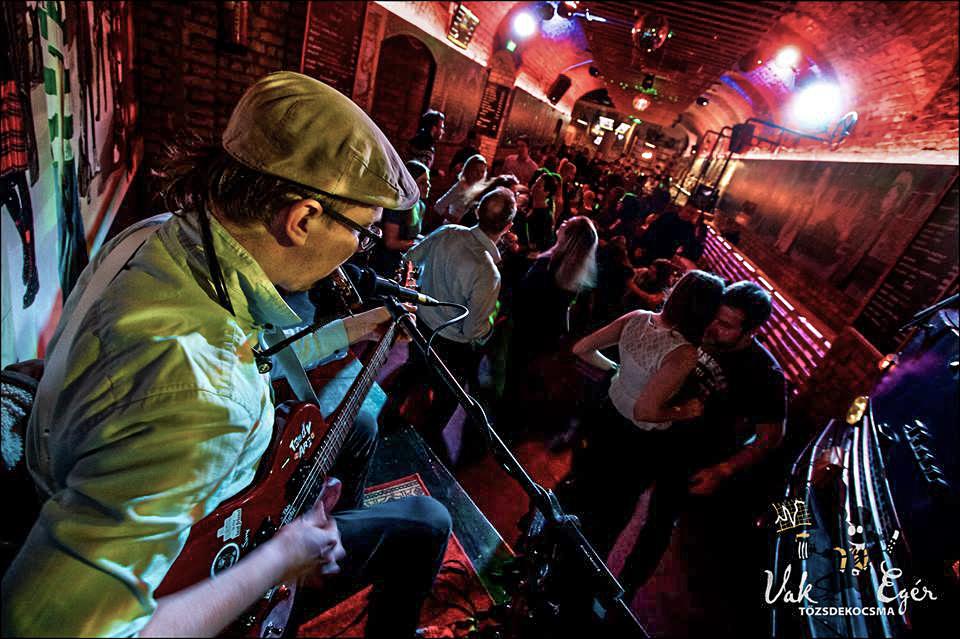 Teddy Harpo One Man Band Vakegér Budapest