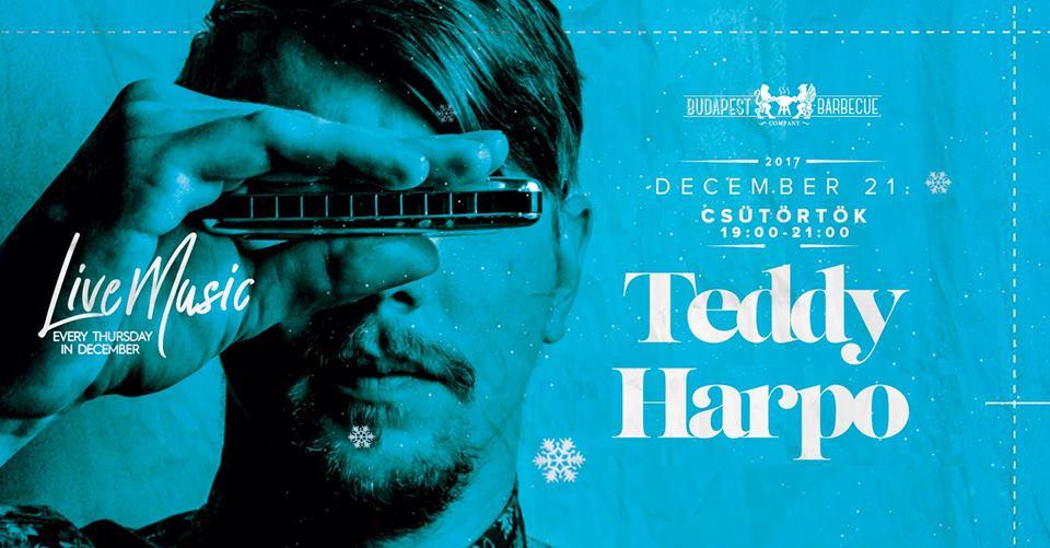 Budapest BBQ Teddy Harpo One Man Band