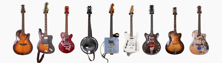 Ovation Celebrity Musima Deluxe 25 Hohner Rockwood Ortega banjoguitar Jolana guitars Orpheus guitars Cremona Luby Fender CD