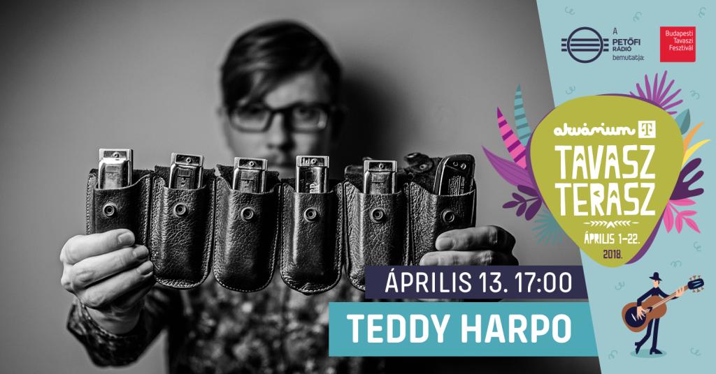 Akvárium Klub Teddy Harpo One Man Band Koncert Budapest Tavaszi Fesztivál Petőfi Rádió